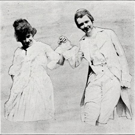 Vintage image of couple dancing from page 101 of The Cupola (1919)