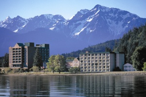 Harrison Hot Springs Resort is Whistler's quieter sister