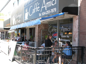 Caffe Amici Commercial Drive