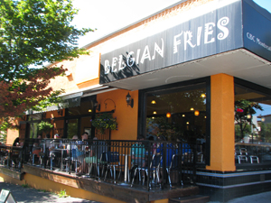 Belgian Fries on Commercial Drive