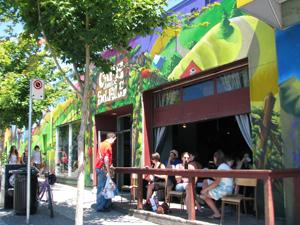 Cafe Deux Soleils on Commercial Drive