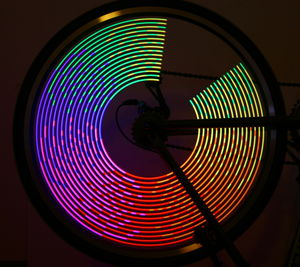 MonkeyLectric light on bicycle