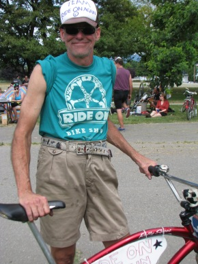 "Rod ""Pappy"" Kirkham of Rod's Famous Cruiser Bike Rides"