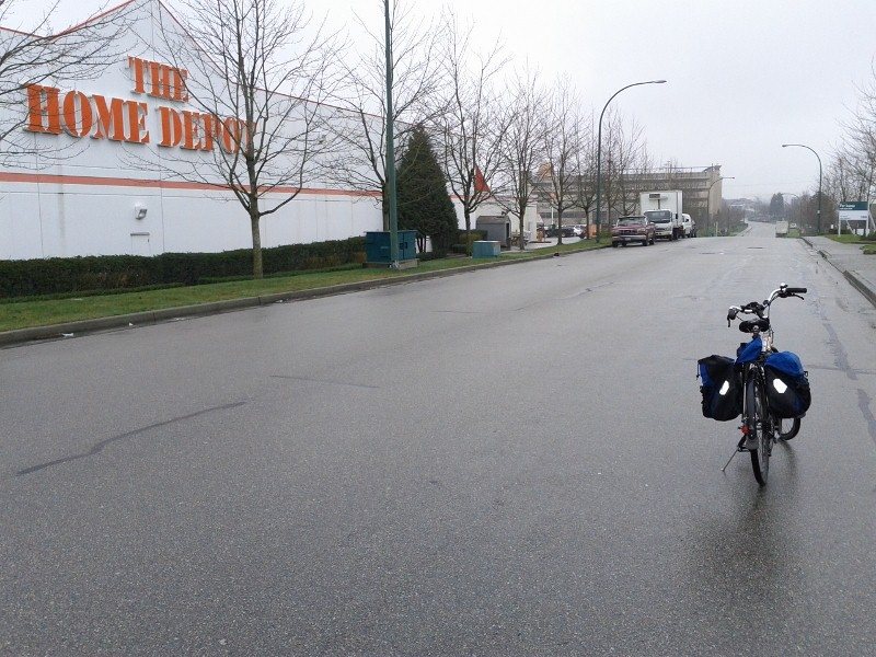 Alternative cycle route to United Way