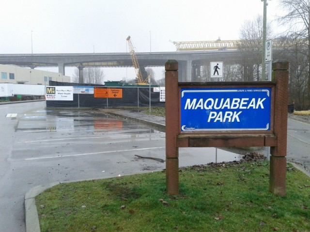 Macquabeak Park construction