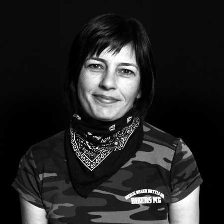 Ulrike Rodrigues portrait for VanBikes.ca